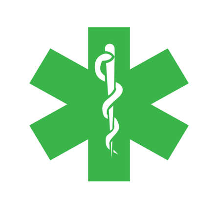 logo medicina: Illusration símbolo de la medicina Vectores