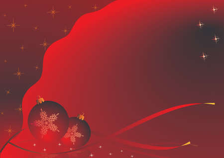 Christmas theme. red version with a Christmas motif. photo