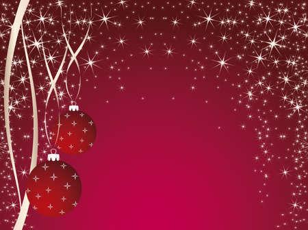 pink christmas theme  Vector EPS10