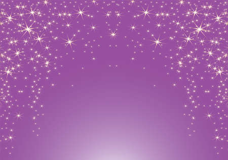 lila: Purple backgaound with stars, Vector