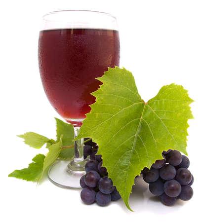 and grape juice: Grape juice
