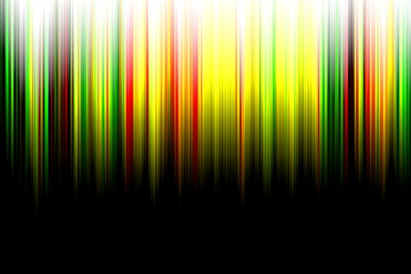 Abstract color aurora