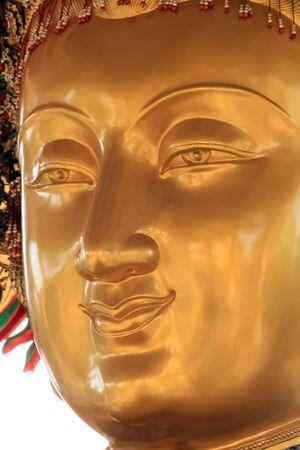 Buddha portrait close up of face