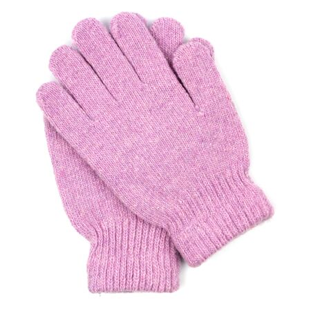winter gloves: gloves isolated on white  Stock Photo