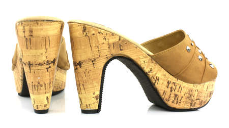 Women Shoes Isolated On White Background