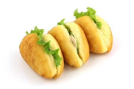 Homemade Tuna Salad Sandwiches photo