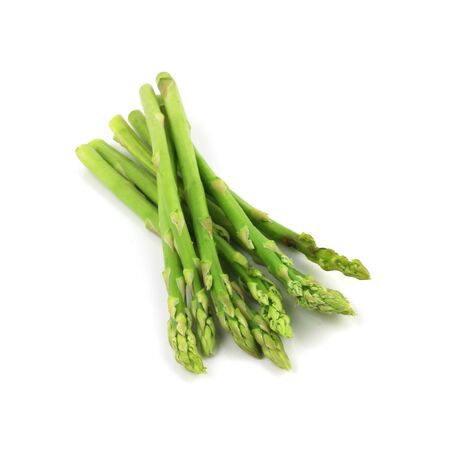Asparagus Isolated on White Background Stock Photo