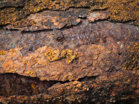 Rust Metal Background Stock Photo