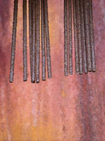 iron oxides: Rusty Metal
