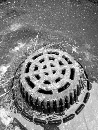 Manhole Water Cover