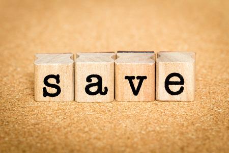 Save - Alphabet Stamp Concepts