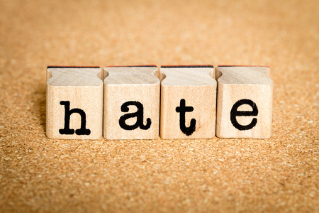 Hate - Alphabet Stamp Concepts