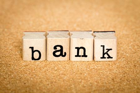 Bank - Alphabet Stamp Concepts