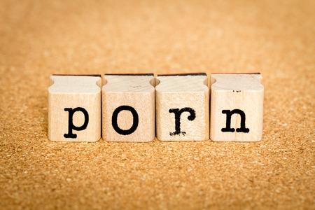 porno: Porn - Concetti di francobolli alfabeto