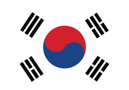 republic of korea: South korea Illustration