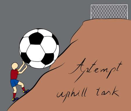 uphill: Spain attempt uphill task