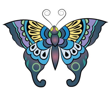 Fantasy Butterfly  Vector