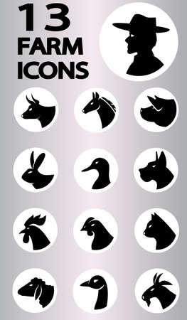farm icon collection