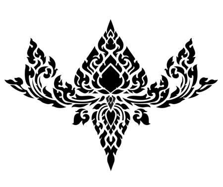 wzorek: Bat sztuki wzór Ilustracja