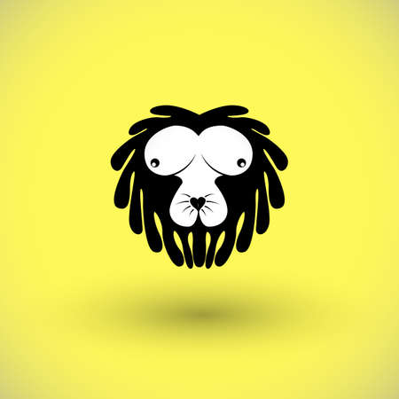 funny picture of lion