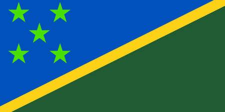 solomon: Flag of Solomon Islands vector