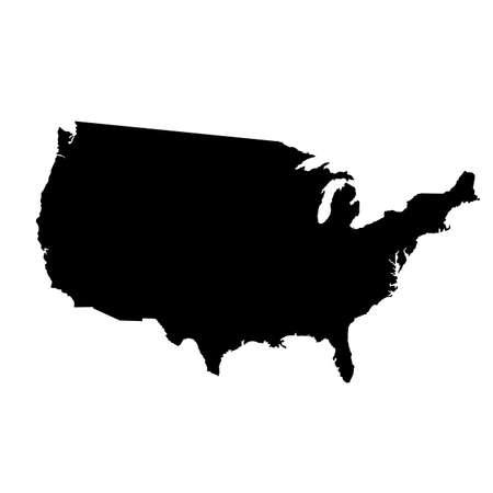 Vecteur carte de États-Unis avec des détails élevés Banque d'images - 33064982