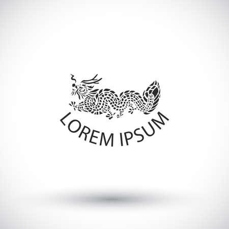 logo: dragon logo vector