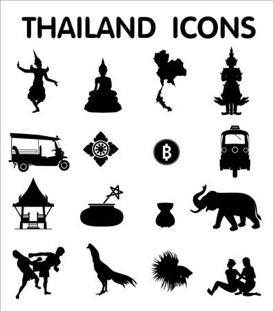 Sixteen newest Thailand icons