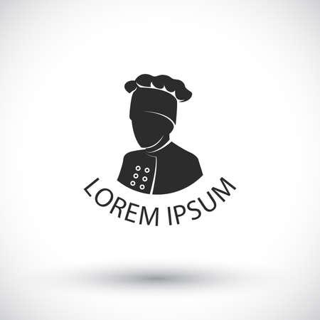 cook  or chef logo Vector Illustration