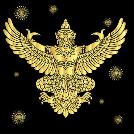 Kings protective  bird