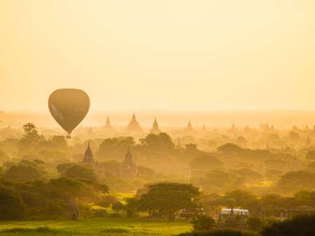 bagan: pergoda in Bagan