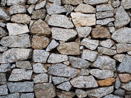rock wall: Granite rock wall