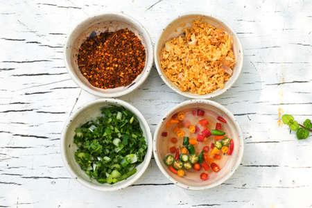 seasoning: Seasoning on the table