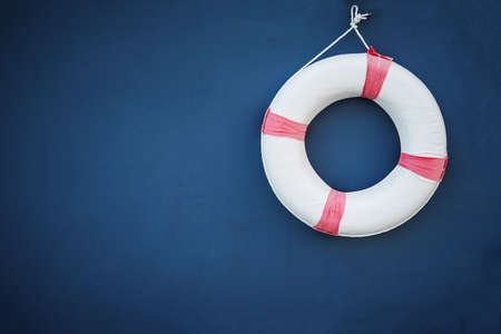 floater: Life-guard hung in wall