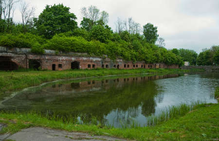 Old fort in the city of Kaliningrad