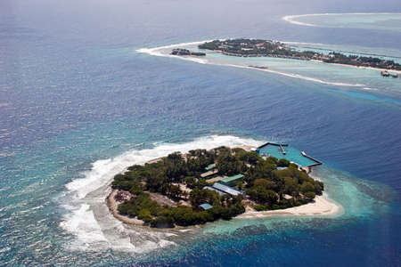 Island at the Indian ocean