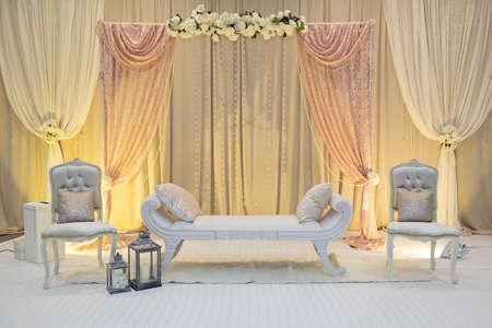 recepcion: etapa de la boda Foto de archivo