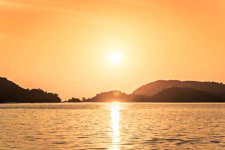 langkawi: Langkawi sunset Andaman Sea