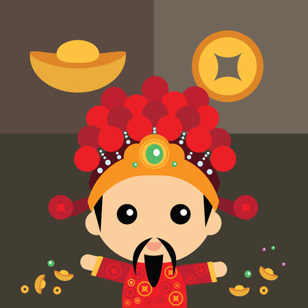 god of wealth: Chinese God of wealth