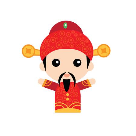 prosperidad: Dios chino de la abundancia