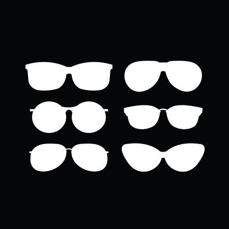 polarized: set of sunglasses Illustration
