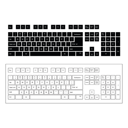 teclado de computadora: Teclado de computadora