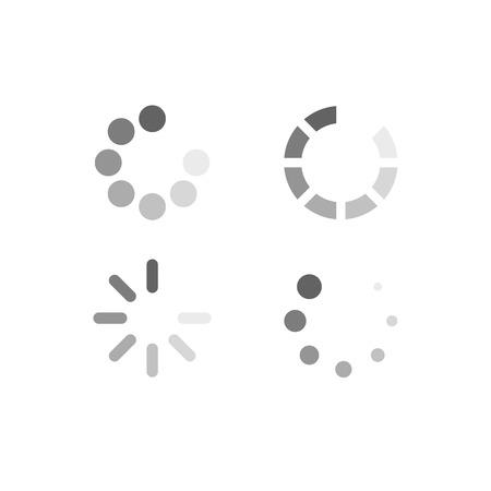 Conjunto de símbolos de carga