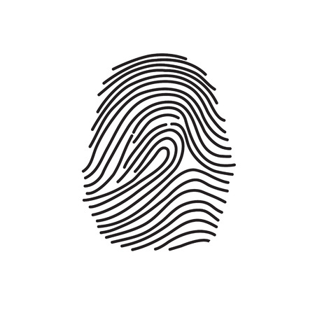 finger print: abstract finger print