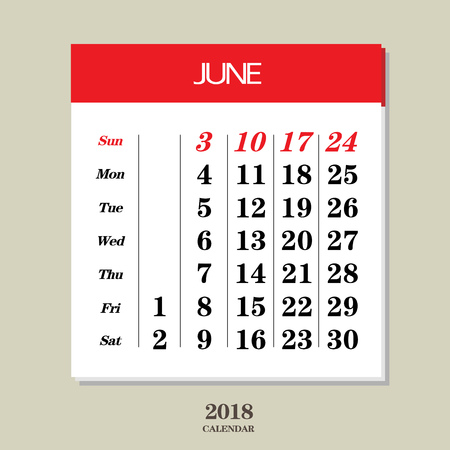 Template Of Calendar For January 2018 Royalty Free Cliparts Vectors