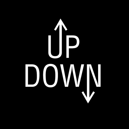 Concept of up and down