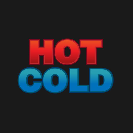 Concept of hot and cold