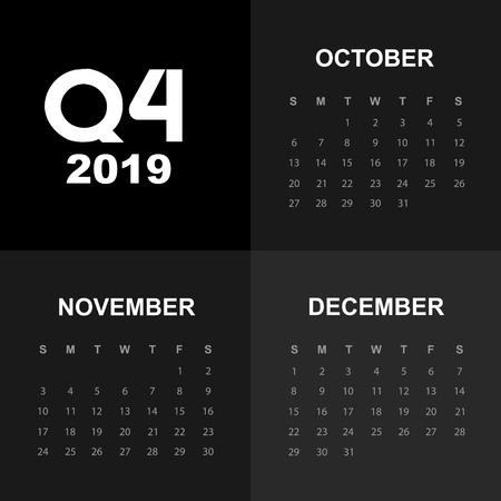 Fourth quarter of calendar 2019