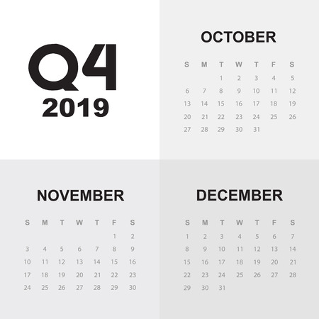 Fourth quarter of calendar 2019