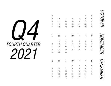Fourth quarter of calendar 2021